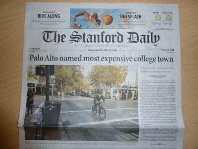 Stanford Daily: Palo Alto ist die teuerste Universitätsstadt der USA