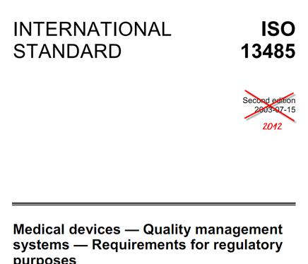 Neue ISO 13481