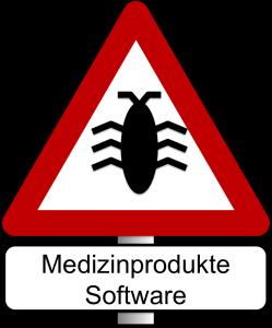 Vorsicht: Software-Anomalie / Fehler in Medizinproduktesoftware