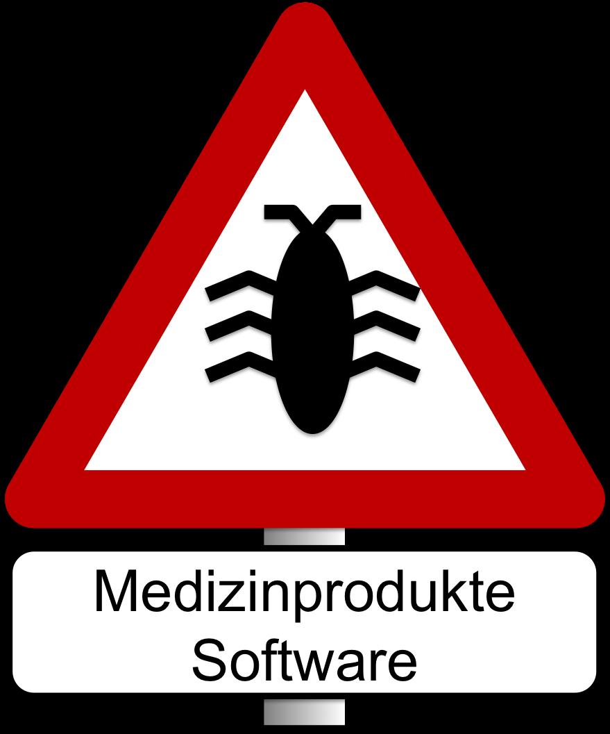 Vorsicht: Software-Anomalien / Fehler in Medizinproduktesoftware