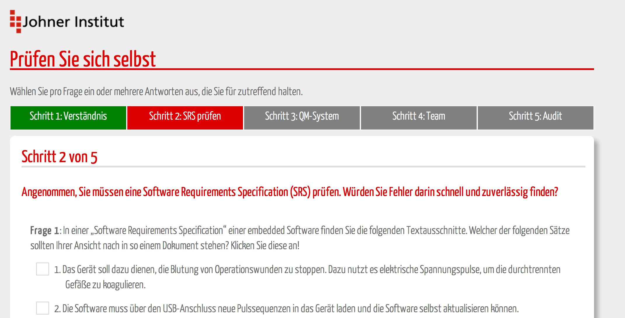 Software-Anforderungen IEC 62304 konform dokumentieren