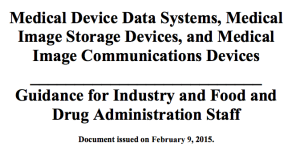 Medical Device Data Systems MDDS