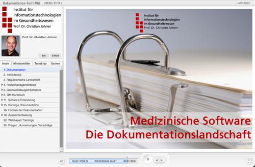 Technische Dokumentation für die Zulassung von Medizinprodukten in ...