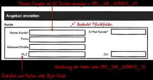 GUI Spezifikation: Nicht direkt gefordert von der IEC 62366 und FDA