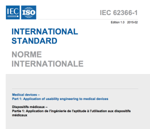 IEC 62366-1:2015: Seit Februar 2015 verfügbar