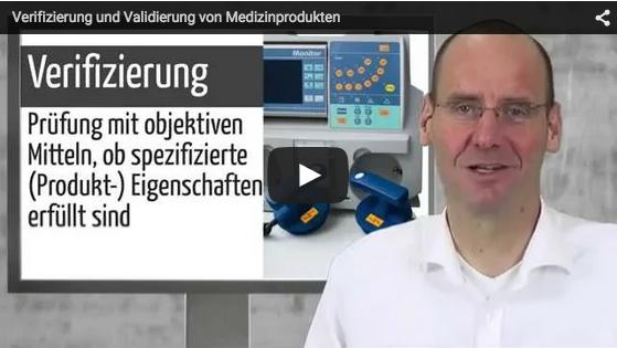 Video zur Validierung und Verifizierung von Medizinprodukten