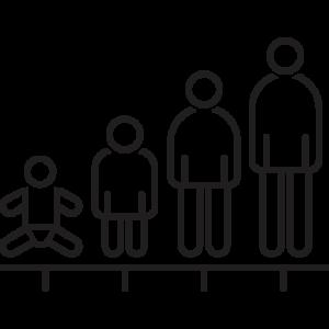 Unterschiedliche Regularien definieren unterschiedliche Altersbereiche z.B. für Säuglinge, Kinder, Jugendliche und Erwachsene.