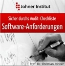 Cover der Checkliste für Software Requirements