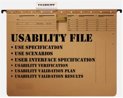 Usability File Compliant with AAMI TIR 75 and IEC 62366-1